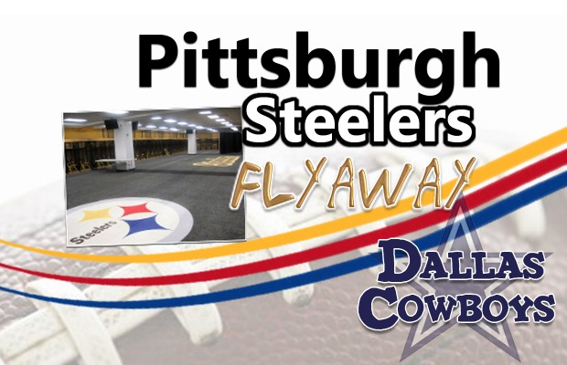 Dallas Cowboys at Pittsburgh Steelers Flyaway November 11-14
