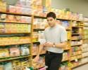 grocery shelf