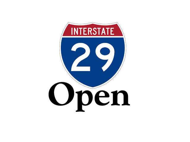 I-29 Re-Opened