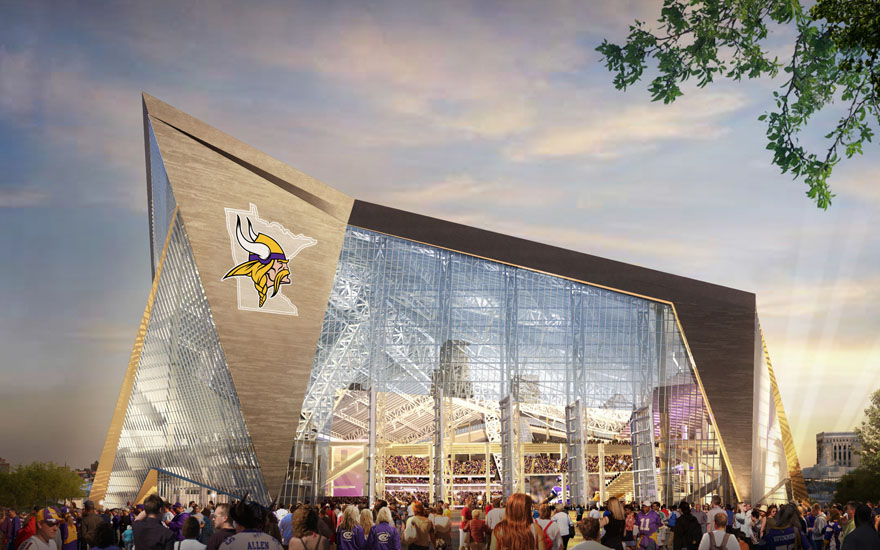 Viking Stadium For The Birds?
