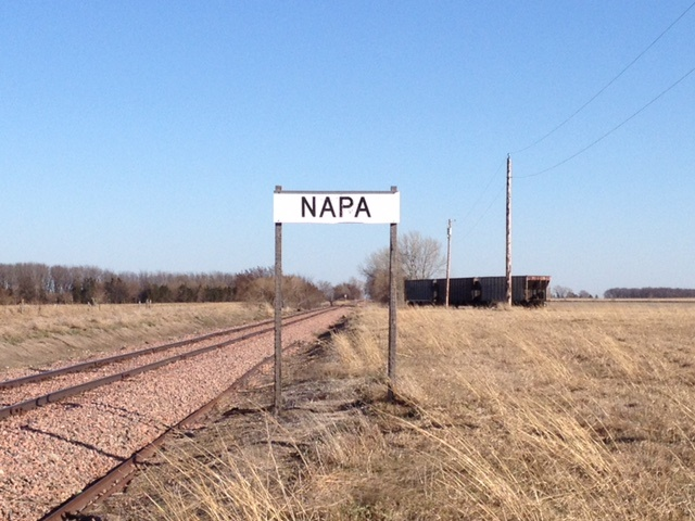 construction ahead of schedule at new grain loader at napa junction